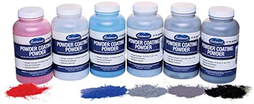 Eastwood Powder Metallic 6 Special Color Sample Kit 8 oz