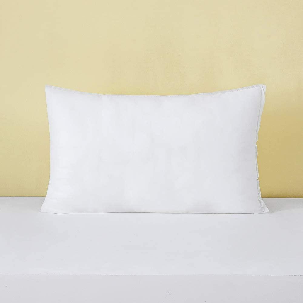 MIULEE 12x20 Pillow Inserts Soft Square Throw Pillow Form Inserts Premium White Sham Stuffer