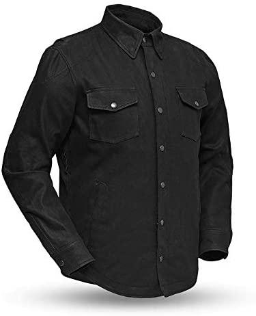 First MFG Co - Equalizer - Men's Motorcycle Denim Shirt (Large)