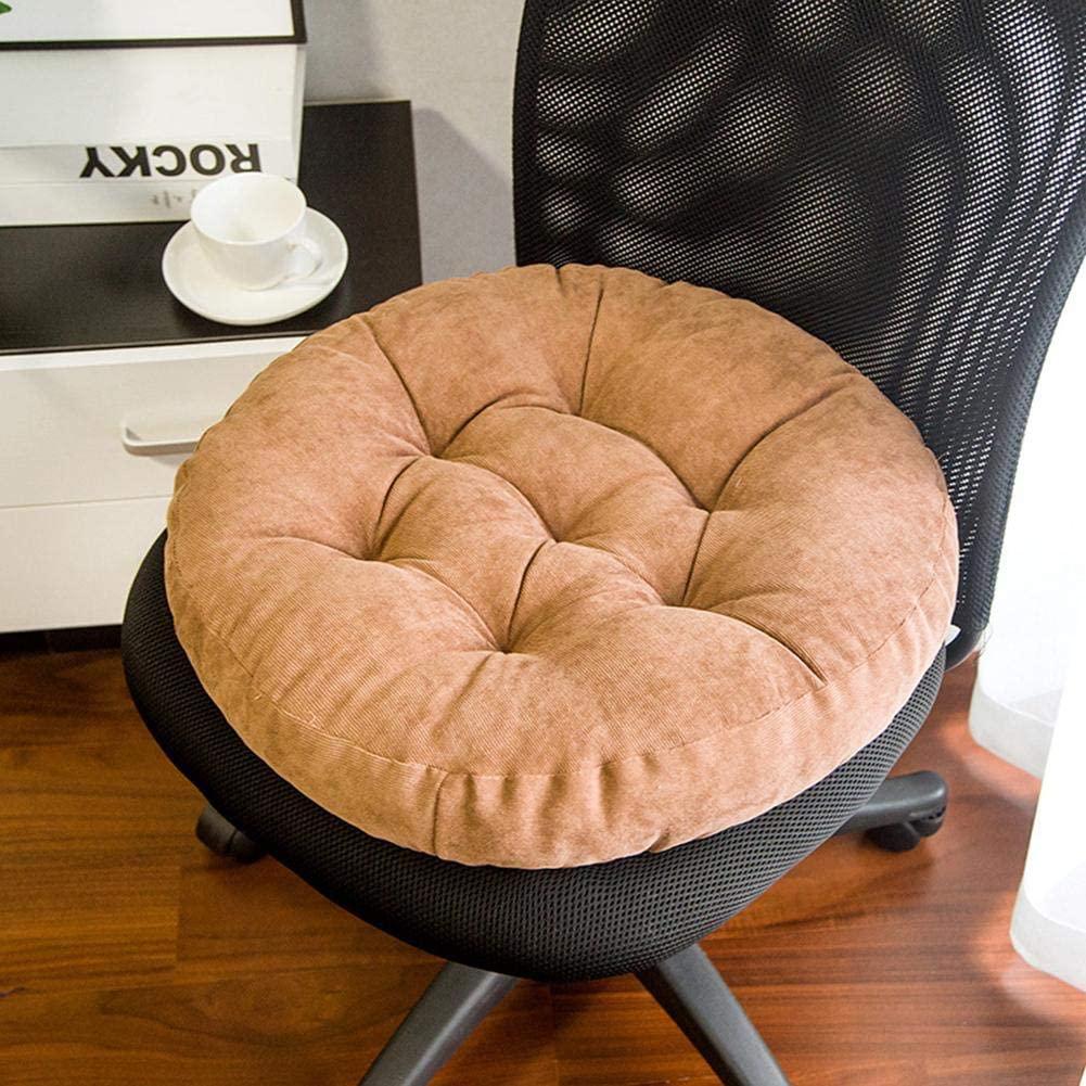 Loveinwinter Round Floor Seat Pillow, 15.75