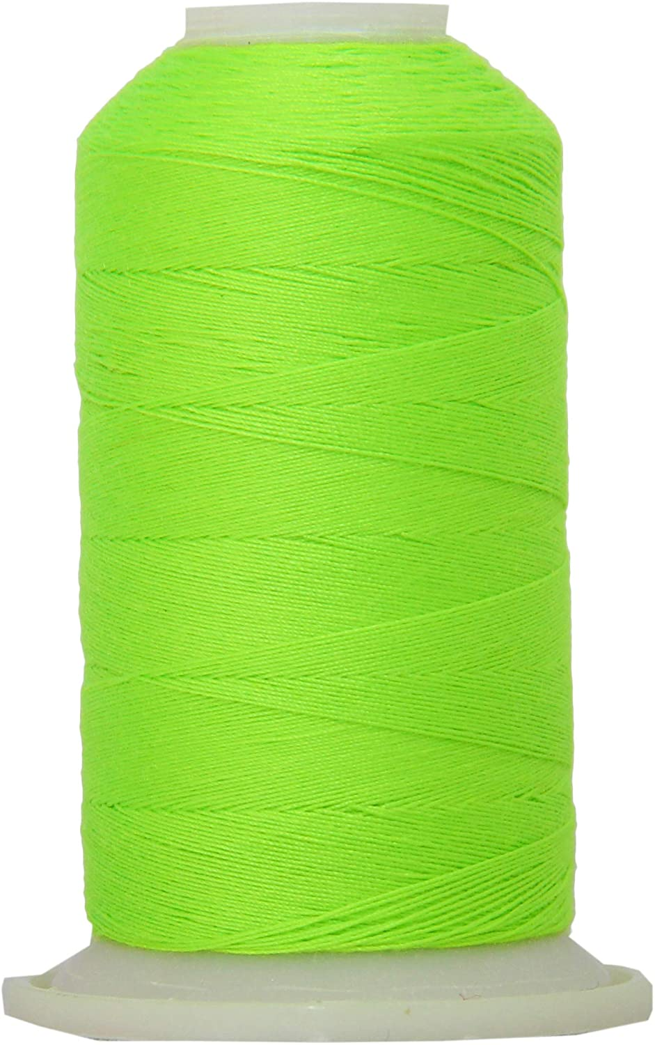 Threadart Polyester All-Purpose Sewing Thread- 600m - 50S/3 - Neon Green