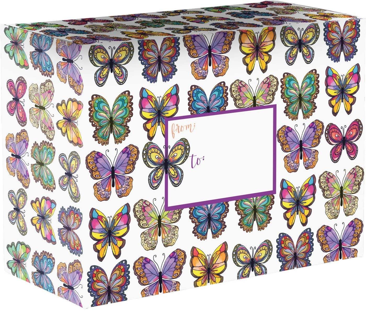 Jillson & Roberts Medium Mailing Boxes, Flutter (24 Pcs)