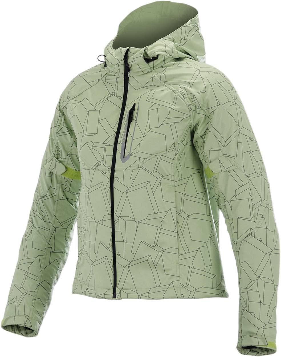 Alpinestars Stella Spark Women's Softshell Jacket (Green/Black, Medium)