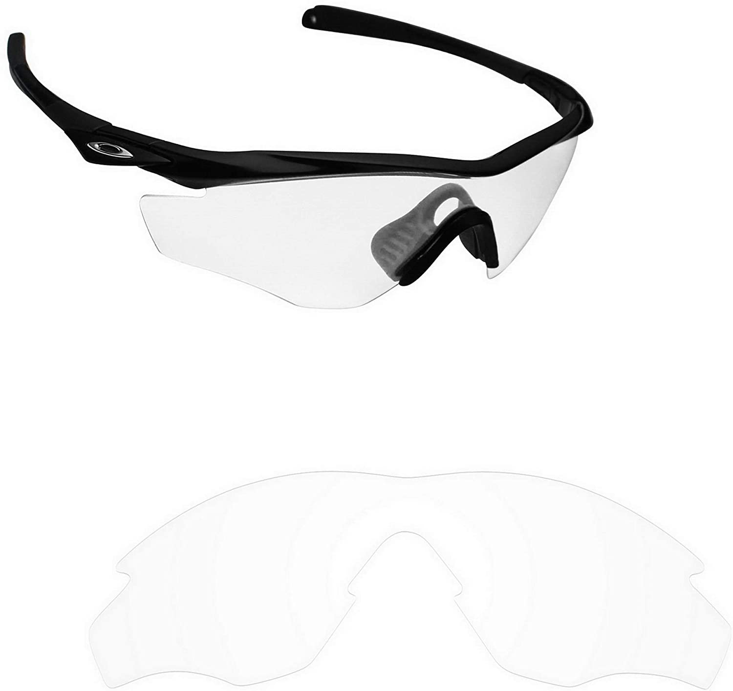 Alphax Polarized Replacement Lenses/Accessories for Oakley M2 Frame Asian Fit - Multiple Options
