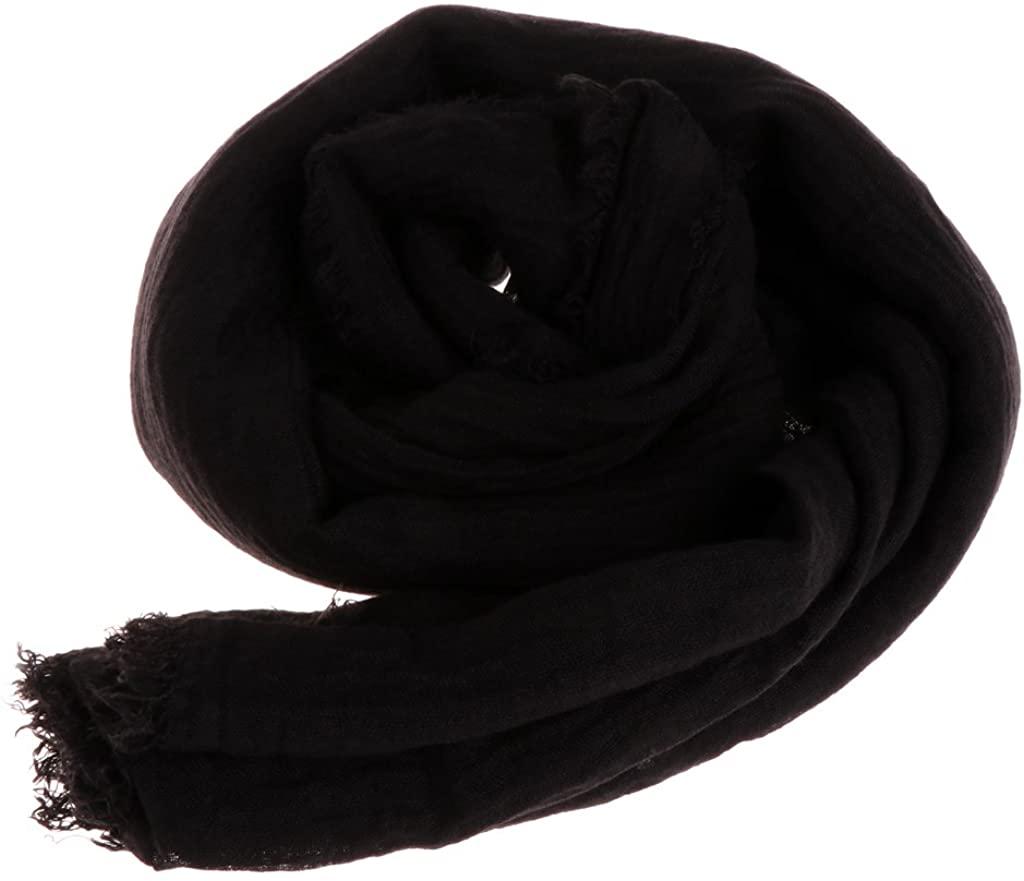 Misright Women Islam Maxi Crinkle Cloud Hijab Scarf Shawl Muslim Long Shawl Wrap