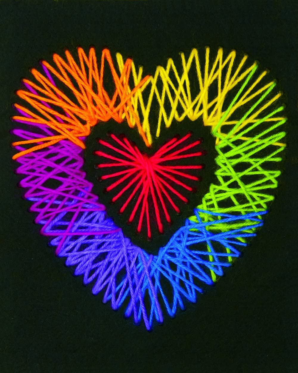 DIMENSIONS Crafts 72-74203 Yarn Art Heart