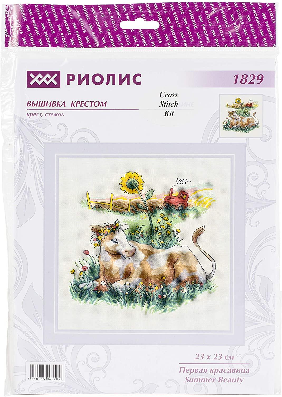 RIOLIS Counted Cross Stitch Summer BEA, Multicolor