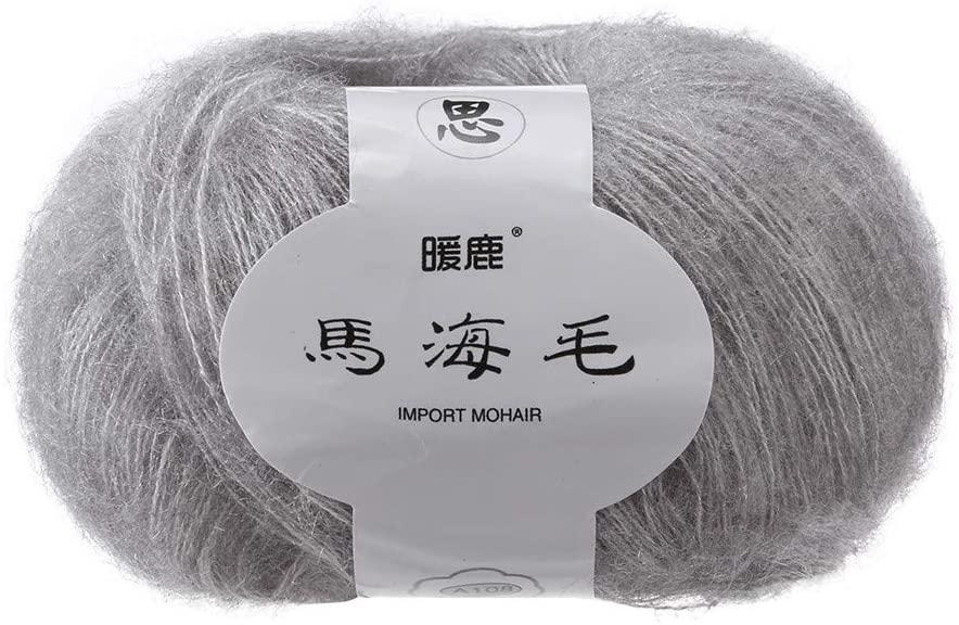 Beauty&favor Soft Wool Yarn Perfect for DIY DIY Shawl Scarf Crochet Kits Supplies (F)