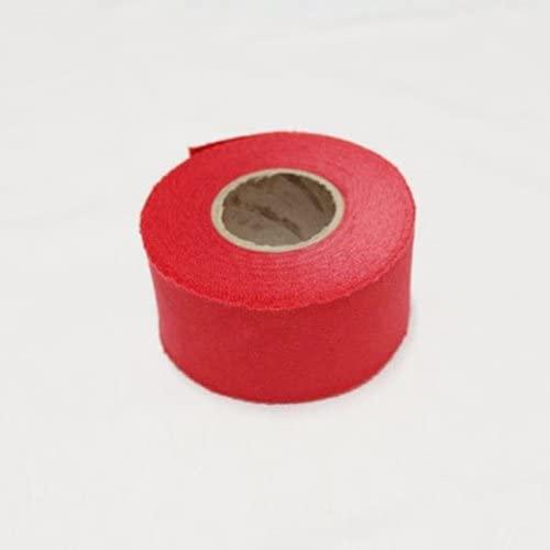 Oxford Bias Tape Binding Cotton Trim 4cm Solid Bias Cut (Red)