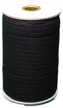 Braided Elastic 1/2'' Wide 144 Yards - Black