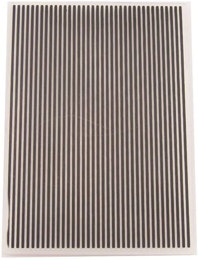 Shoresu Plastic Embossing Folder Stencils Template Molds DIY Scrapbooking Paper Photo Album Card Decoration - Stripe