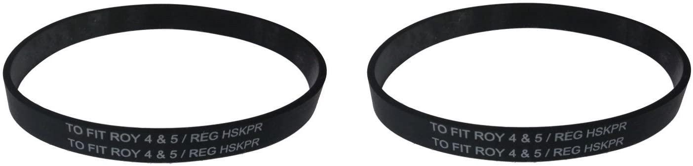 RJMom Vacuum Belt for Dirt Devil Style 5 Belt Part #1LU0310X00 (2-Belts)
