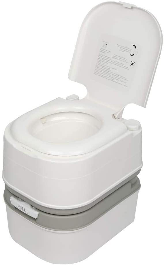 Spaco Portable Travel Toilet Removable Flush Toilet Camping Toilet