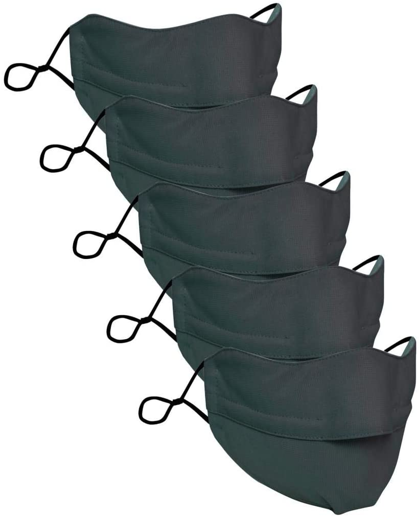 QWEDF Adult for Glasses Wearers Prevent Fogging Face Mask Gasket Adjusting Buckle Outdoor Sport Filters Foggy Prevent Reusable Gears