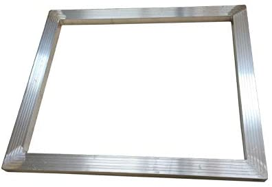 TECHTONGDA Screen Printing Aluminum Frame DIY Screen Frame with No Screen Fabric Mesh (7.5x10 inch (19x25cm))