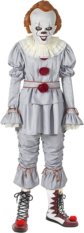 Halloween Costume Cosplay Grey Suit Full Set for Men Women