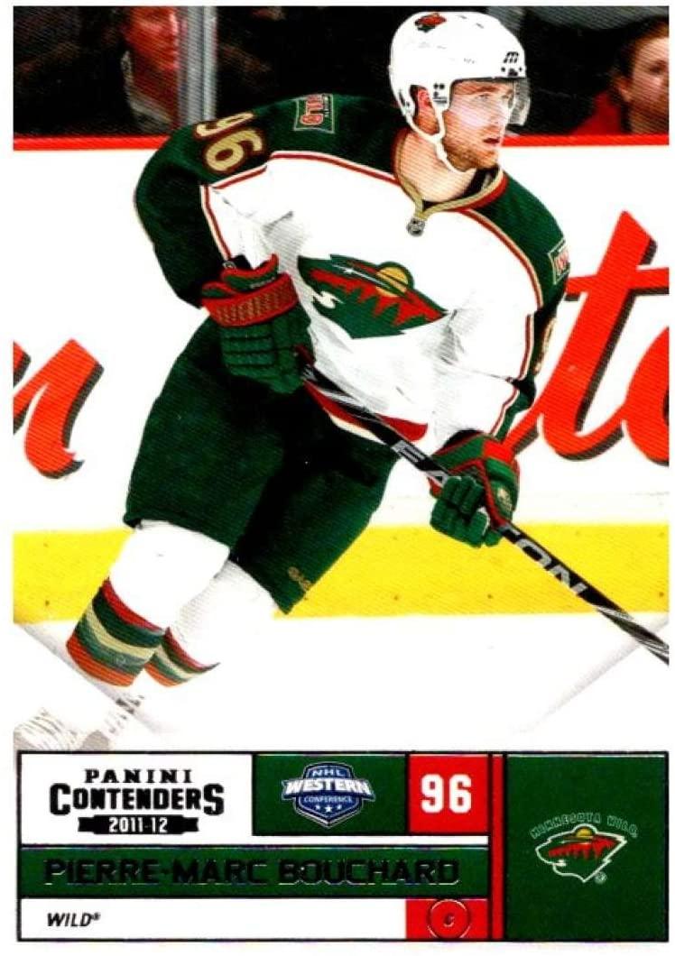 (HCW) 2011-12 Playoff Contenders #96 Pierre-Marc Bouchard Wild NHL Mint Hockey