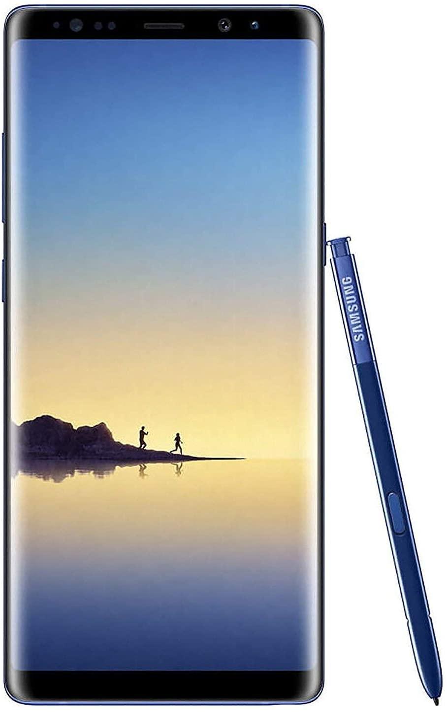 Samsung Galaxy Note 8 N950U 64GB AT&T GSM Unlocked - Deep Sea Blue (Renewed)