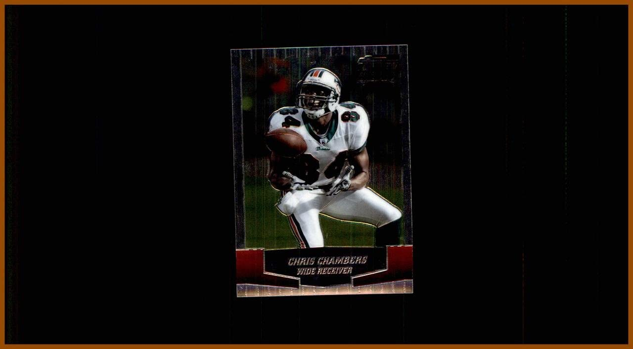 2004 Topps Draft Picks and Prospects Chrome #3 Chris Chambers MIAMI DOLPHINS WISCONSIN BADGERS