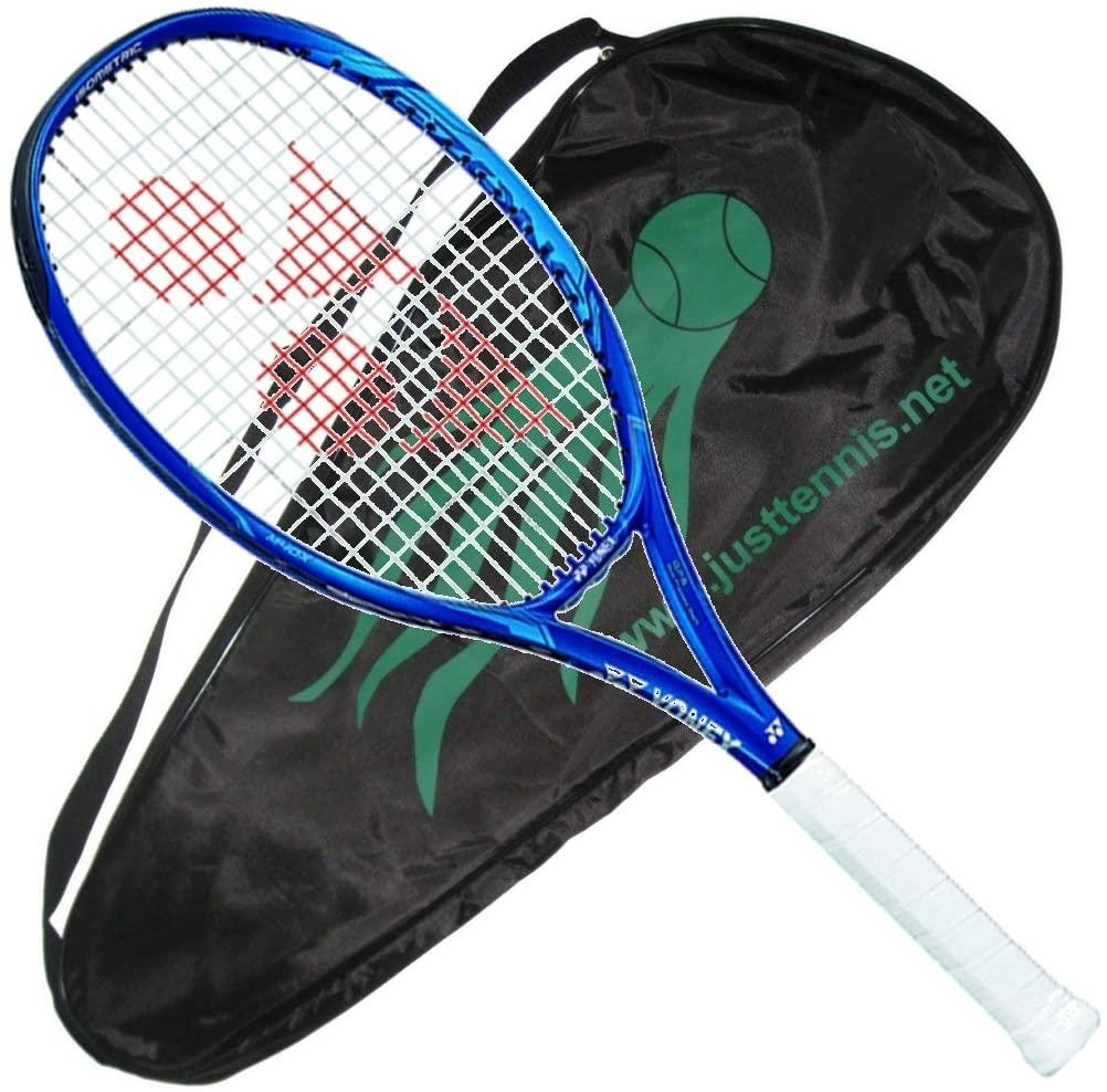 YONEX 2020 EZone 105 Deep Blue Tennis Racquet - Strung with Cover