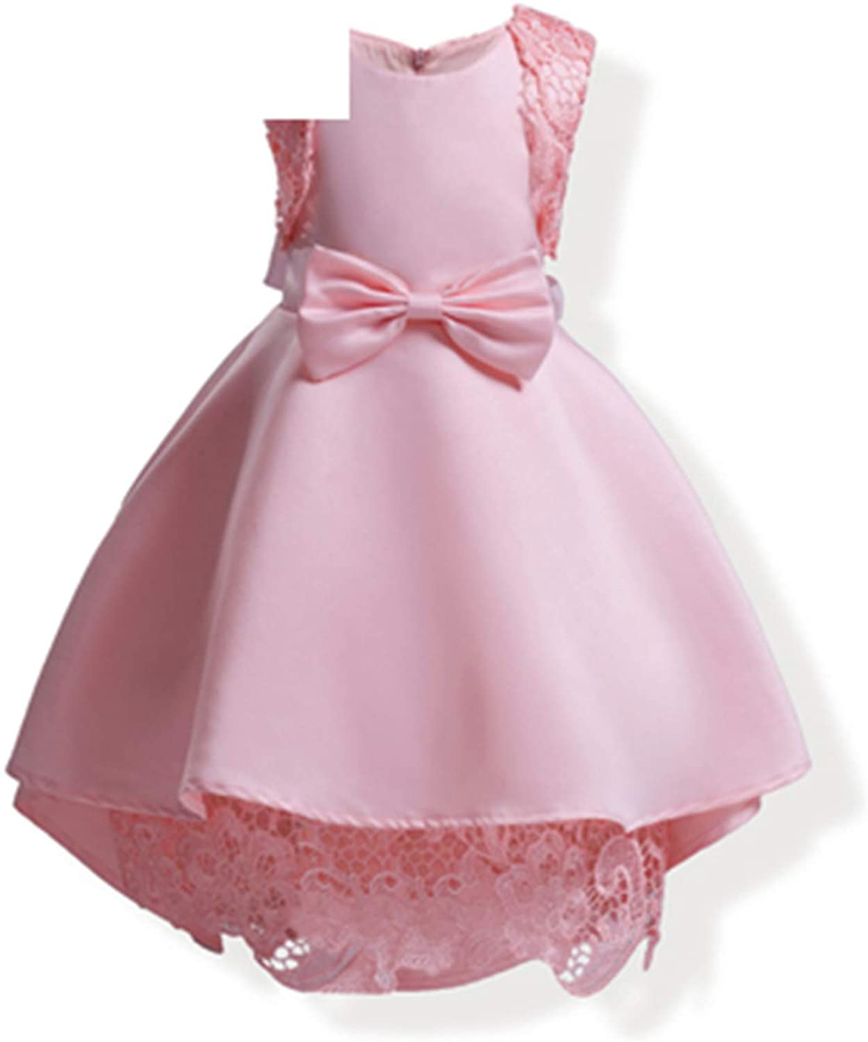 Notapplicable Girl Clothes Dress Bow Accessories Cotton Lining 3-9 Y Children's