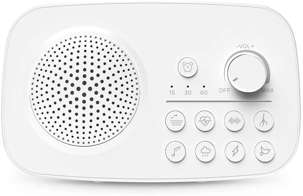 Sound Spa Relaxation Machine, Sleep Therapy, Sound Machine for Sleeping Relaxation, Premium Baby Sleep Therapy Sound Machine, White Noise Sound Machine for Baby Adults Sleeping