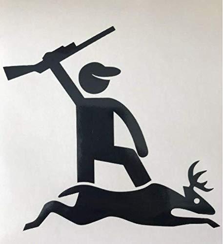 Deer Hunting Decal - Deer Down Buck Shot Point Big Game Copy