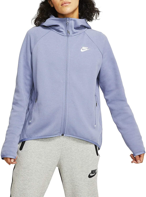 Nike Womens NSW Tech Fleece Cape Hoodie Bv7565-512