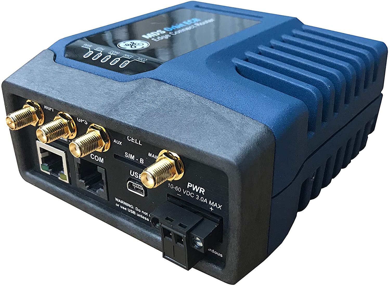 GE MDS Orbit ECR (Edge Connect Router) Cellular 4G LTE-A Americas/EMEA with Dual SIM, WiFi 2.4GHz a/b/g/n, Standard Flat, P1: 4 SMA + 2 SIM