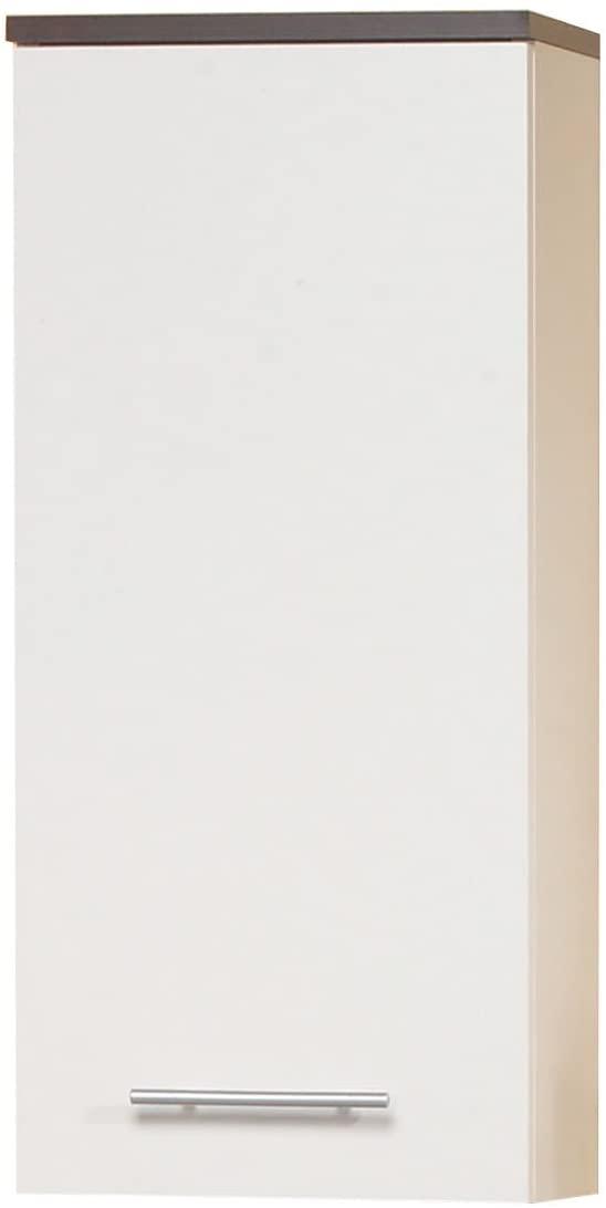 Ambientehome Katun 54037 Cabinet 21 x 32.5 x 72 cm Wenge Wood White