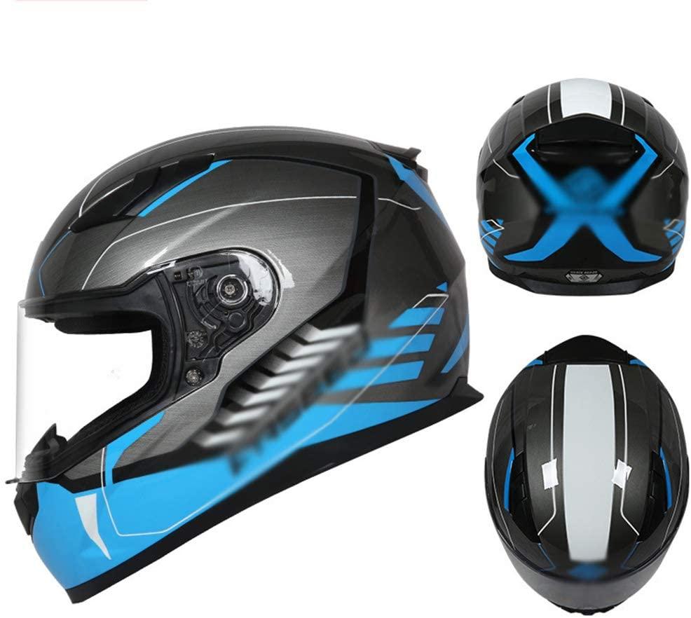 JTYX Full Face Motorcycle Helmet DOT and ECE Approved Jet Helmet Modular Helmet Flip Up Motocross Helmet Motorbike Moped Street Bike Racing Crash Helmet with Clear Visor for Adult, Men and Women
