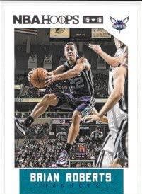 Brian Roberts 2015-16 NBA Hoops Charlotte Hornets Card #47