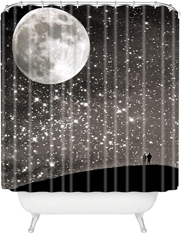 Deny Designs Shannon Clark Love Under The Stars Shower Curtain, 69