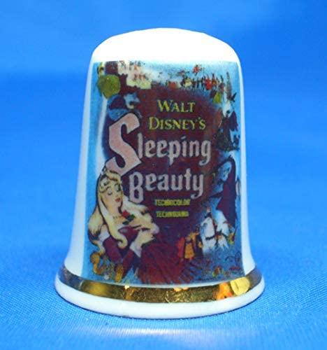 Birchcroft Porcelain China Thimble - Sleeping Beauty Movie Poster Box