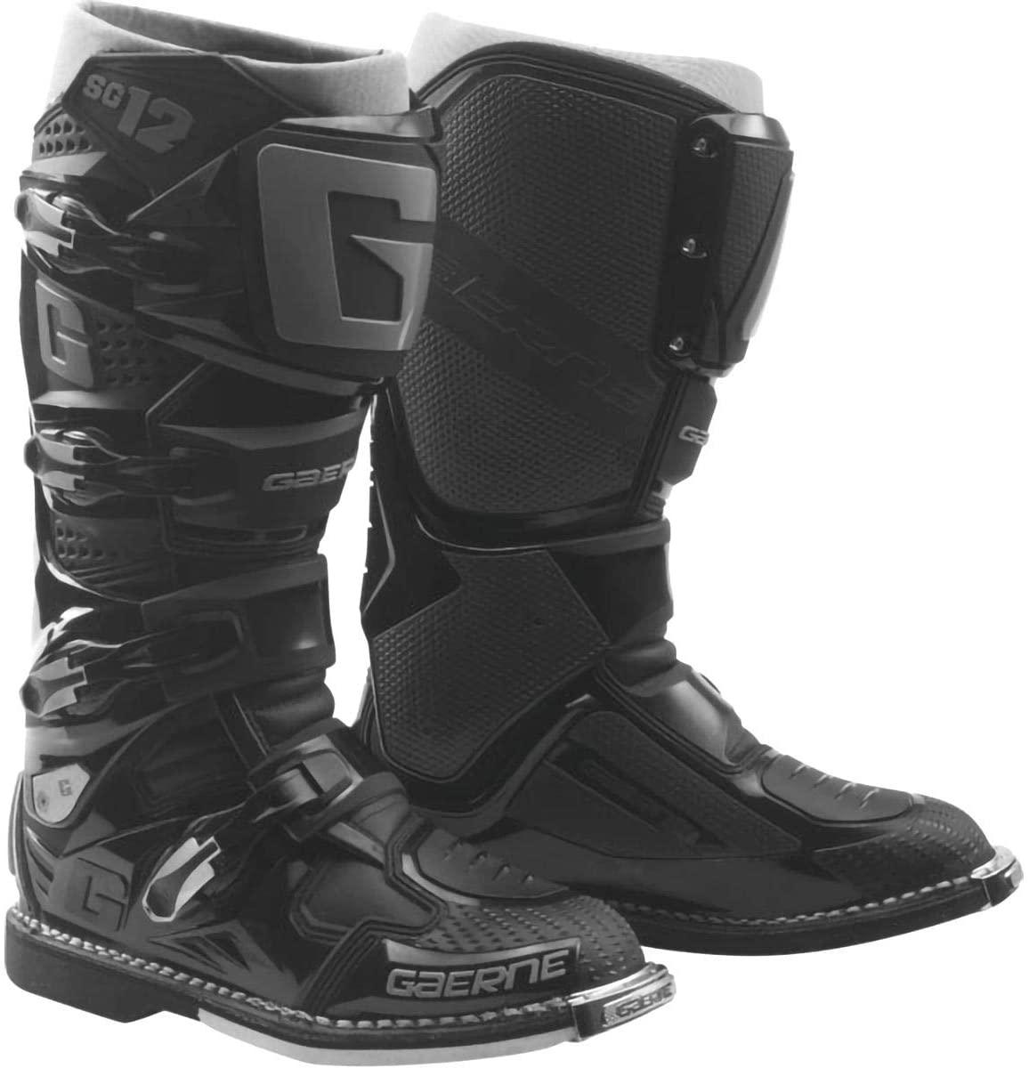 Gaerne SG-12 Boots-Black/Grey-12