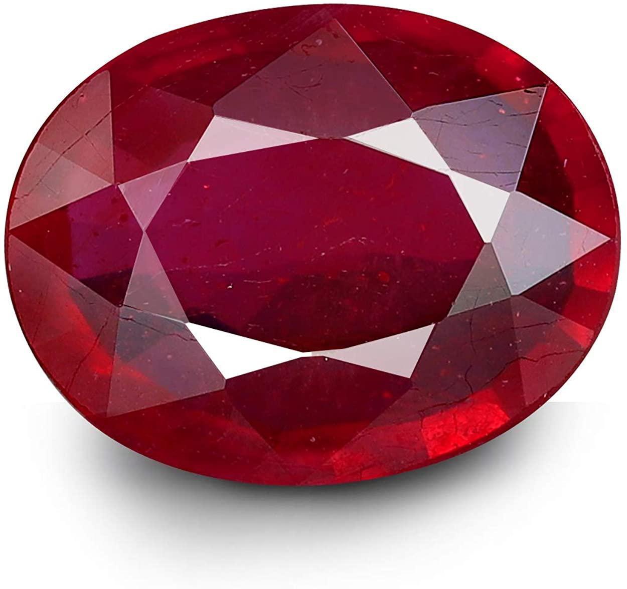 GemPundit Ruby 3.33 Carats GEMTRUE Certified from Thailand Natural Original AAA++ Gemstone