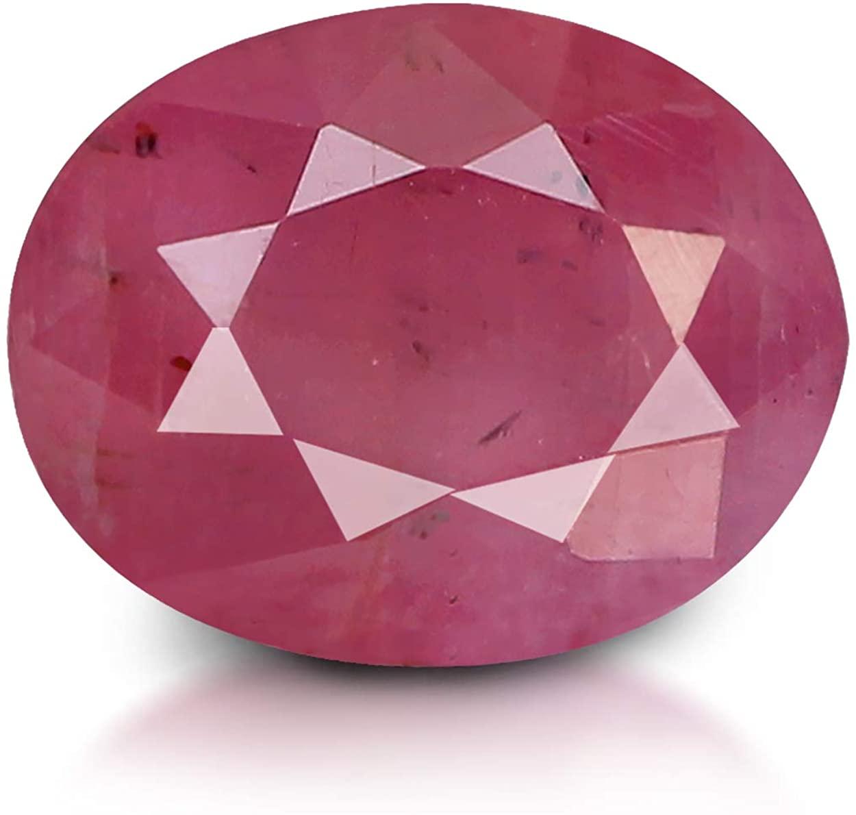 GemPundit Ruby 2.59 CaratsJBN Certified Unheated Natural Loose Gemstone - 2.88 Ratti