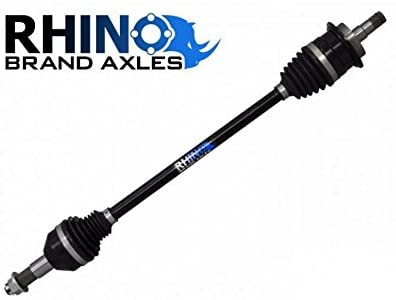 SuperATV Rhino Heavy Duty Rear CV Axle for Arctic Cat Wildcat/Wildcat X (2012-2016) - Extended Length REAR Axle for Use With +3
