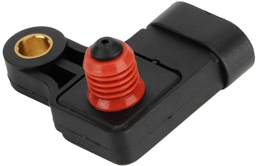 Hlyjoon Car MAP Manifold Absolut Pressure Sensor 96276354 25184080 1859085Z01 96331925 Auto Absolute Pressure Sensor Fit for Chevrolet Nubira Lacetti Rezzo 2005-2018
