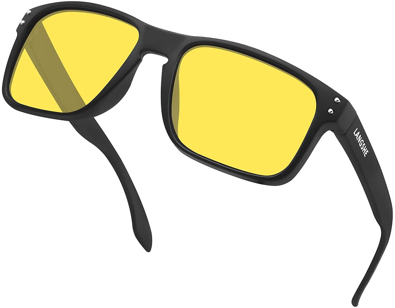 Polarized Square Sunglasses For Men and Women Matte Finish Sun Glasses UV Protection Glasses
