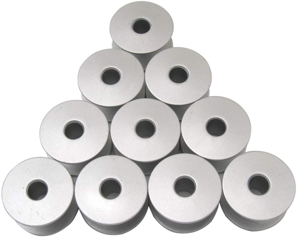 CKPSMS Brand -10PCS #S15666-001 BOBBINS FIT for Brother BAS-304, BAS-310, BAS-311, BAS-314, BAS-326, BAS-341, BAS-701
