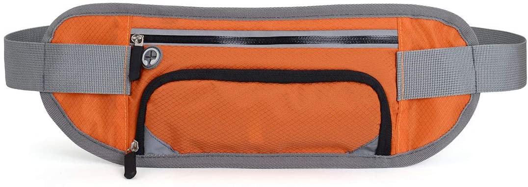 Running Bag Sports Water Bottle Holder Running Belt Waist Bag Waterproof Fanny Pack Men Women Sports Gym Fitness Bag for Fits 7.2 inches Smartphones