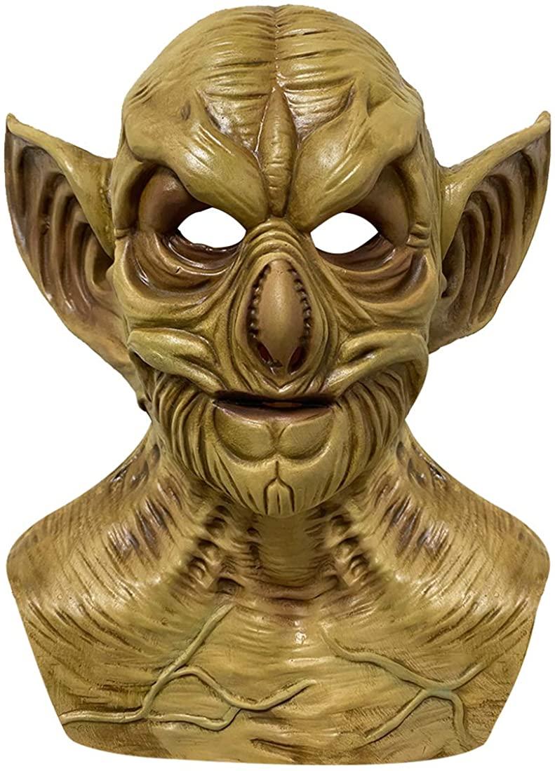 Horror Demon Clown Mask Halloween Creepy Costume Props