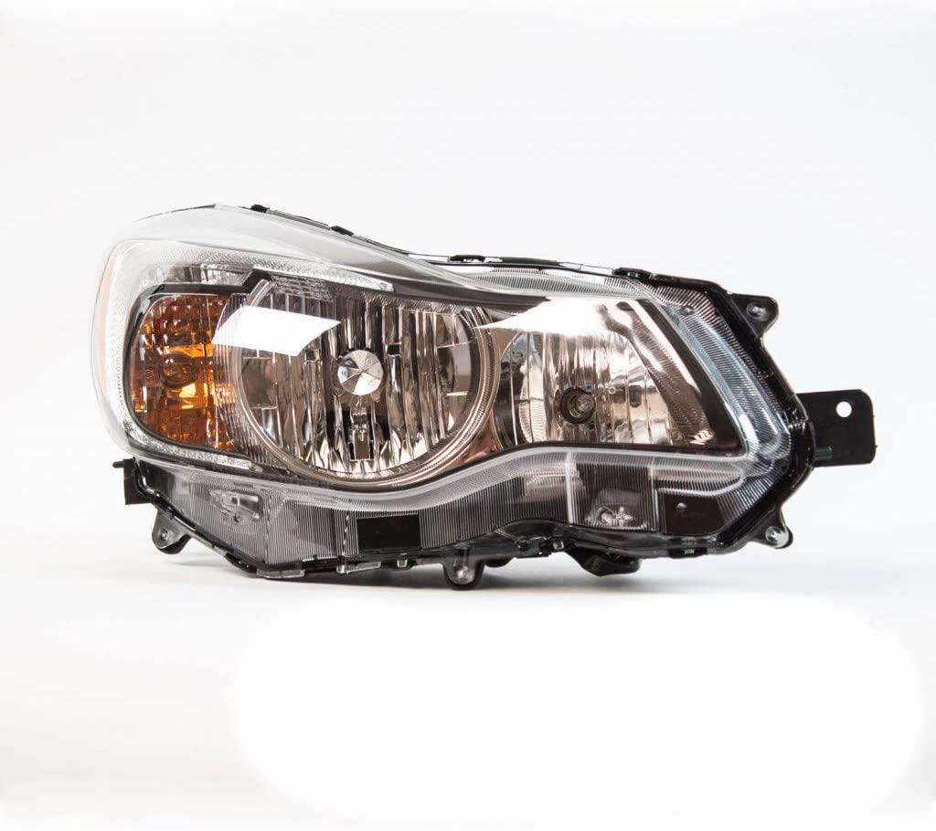 CarLights360: For 2013 2014 2015 Subaru XV Crosstrek Headlight Assembly Passenger Side (Right) CAPA Certified w/Bulbs Halogen Type - Replacement for SU2503140