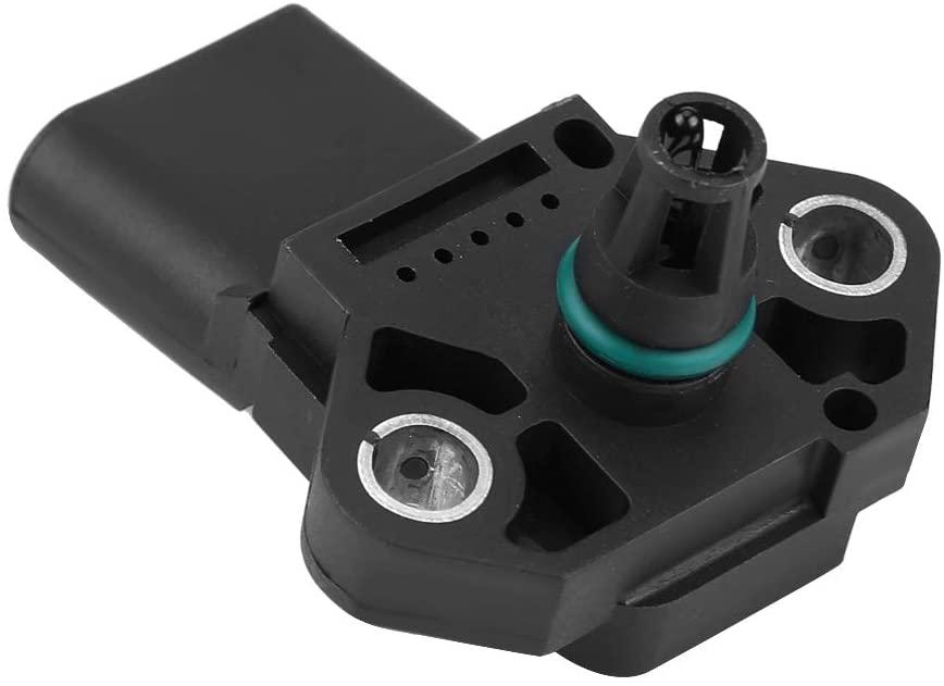 MAP Sensor,95560618010 038906051C Air Boost Intake Manifold Pressure Sensor Fit for A8 Q7 TT TT RS TTS TOUARE