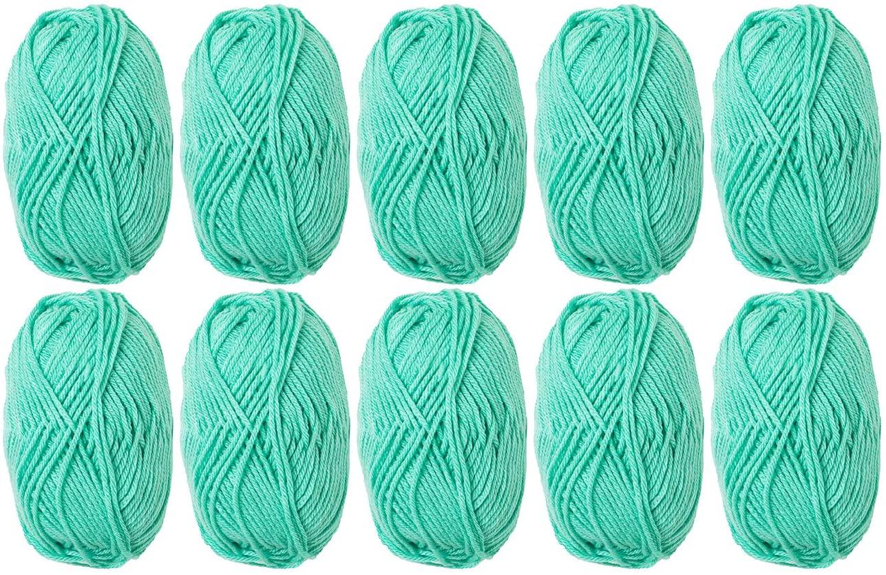 Knit Picks Brava Bulky 100% Acrylic Yarn - 10 Skeins (Tranquil)