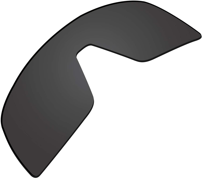Glintbay 100% Precise-Fit Replacement Sunglass Lenses for Oakley Sutro - Polarized Advanced Black