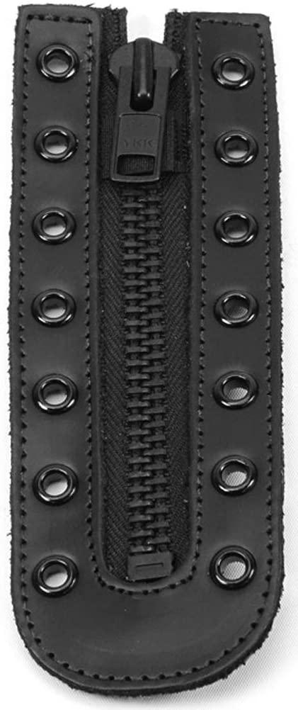 Thorogood Men's 584-6002 7 Eye Zipper, Black - One Size
