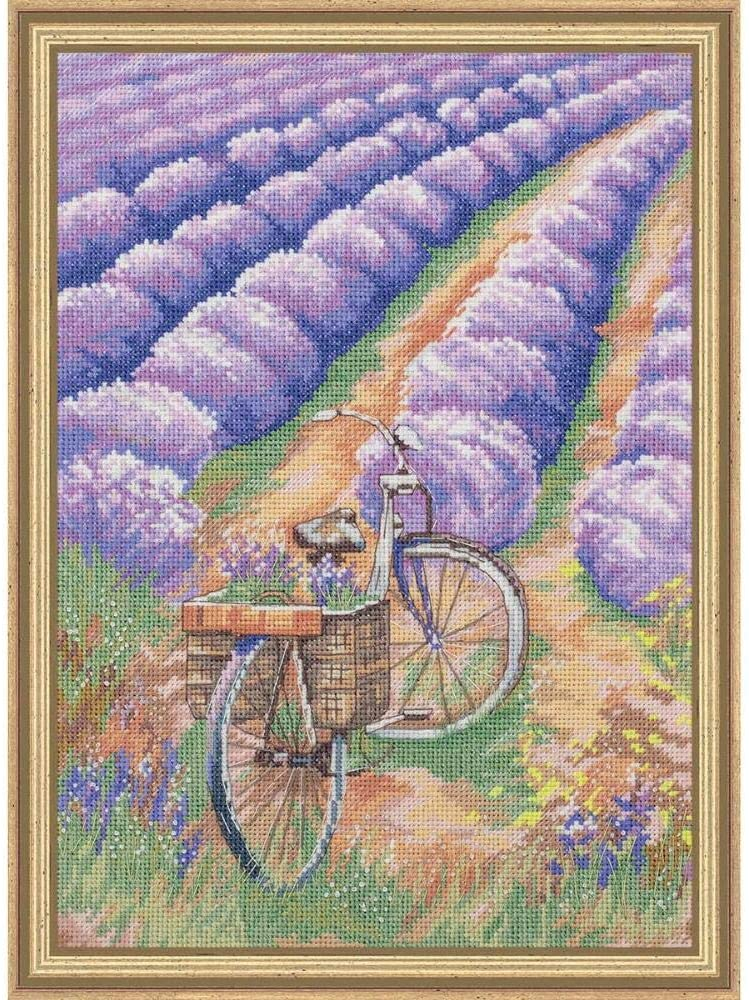 Panna The Beauty of Provence Kit & Frame Counted Cross-Stitch Kit