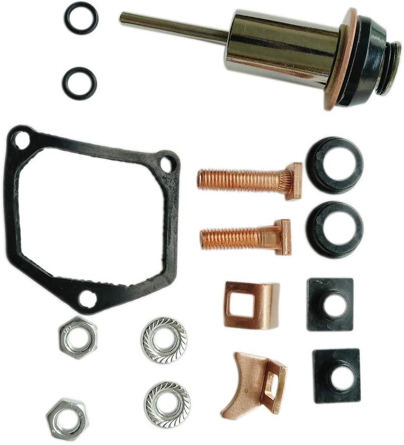 CARBEX Starter Solenoid Repair Rebuild Kit #228000-6660 for Denso Toyota Subaru 053660-7120